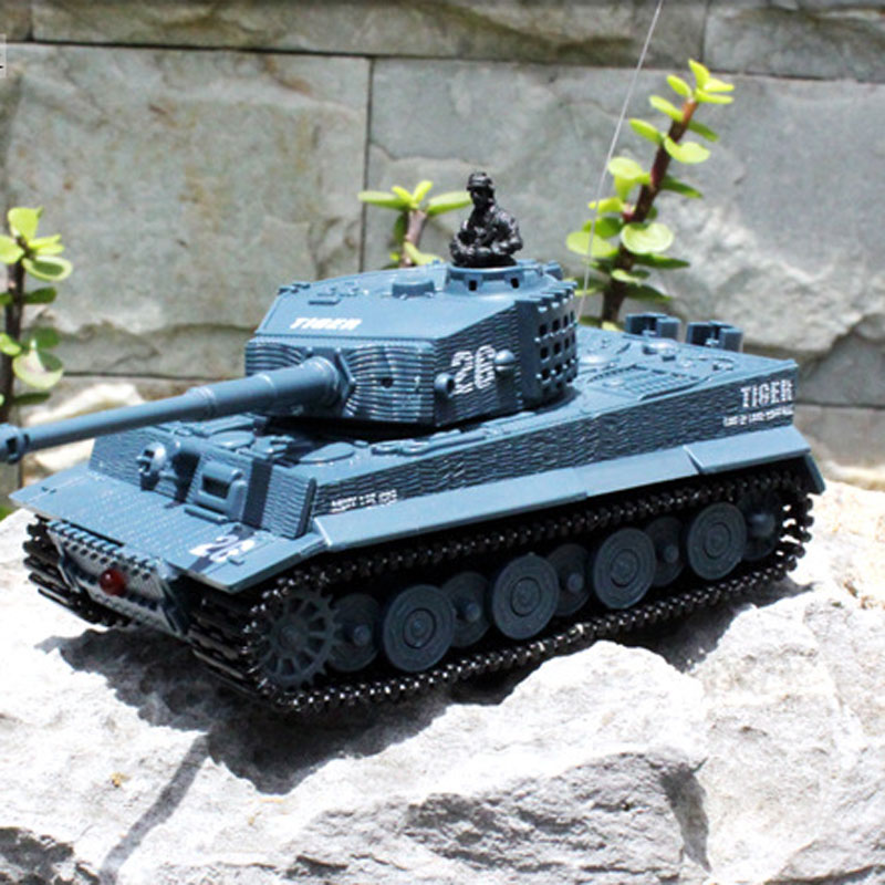 2117 RC Tank With Fired Missiles For Kids Toys Gift