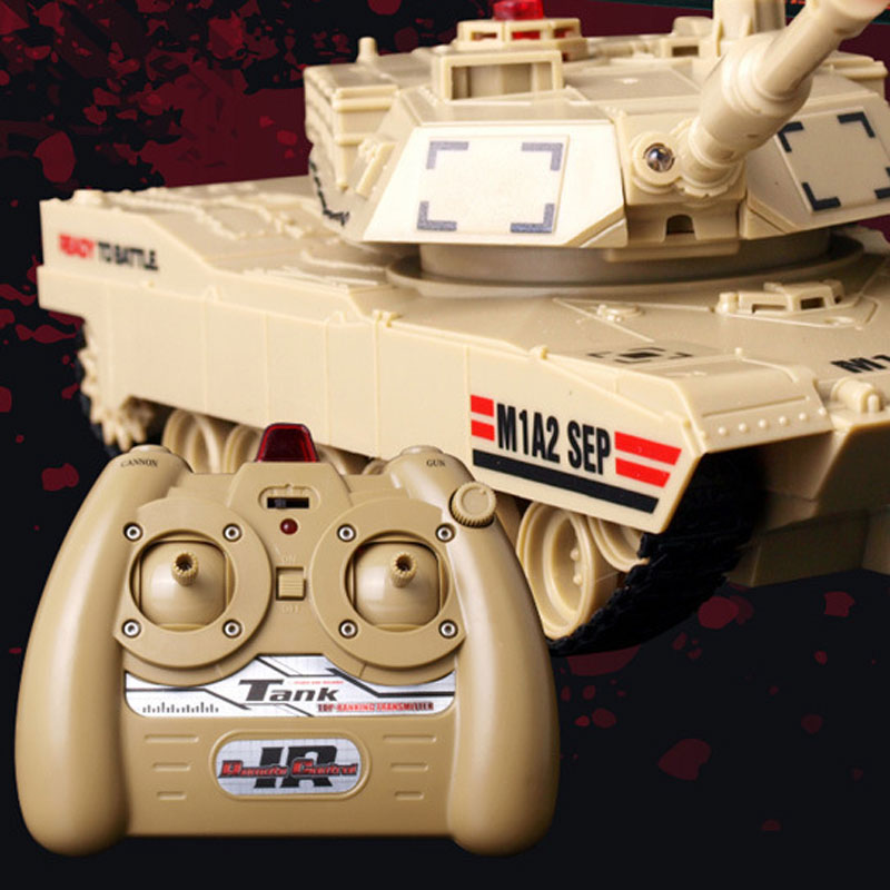 JD801 RC Tank With Fired Missiles For Kids Toys Gift