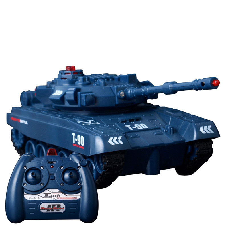 JD802 RC Tank With Fired Missiles For Kids Toys Gift