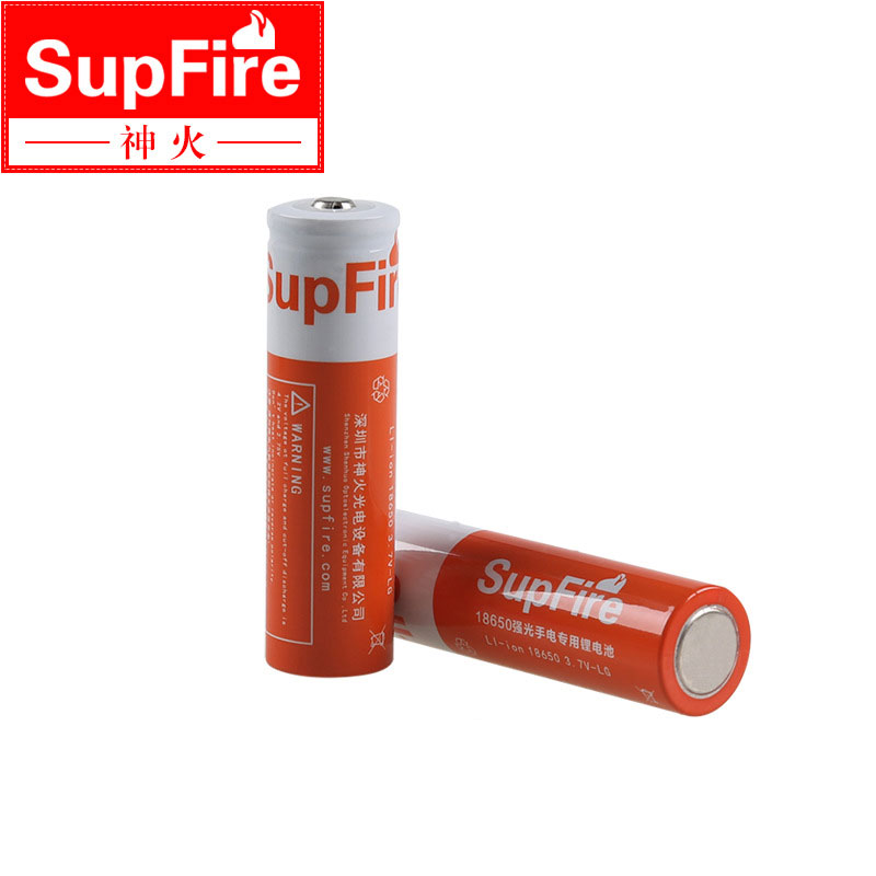 18650 9900mAh 4.2 V Gtlenergy li-ion Orange Rechargeable Battery for LED Flashlight