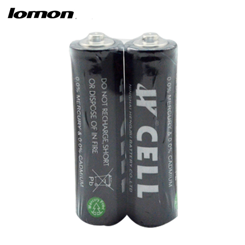 Lomon 5th Carbon Zinc-manganese Battery AA Toys Fattery Flashlight P157-2