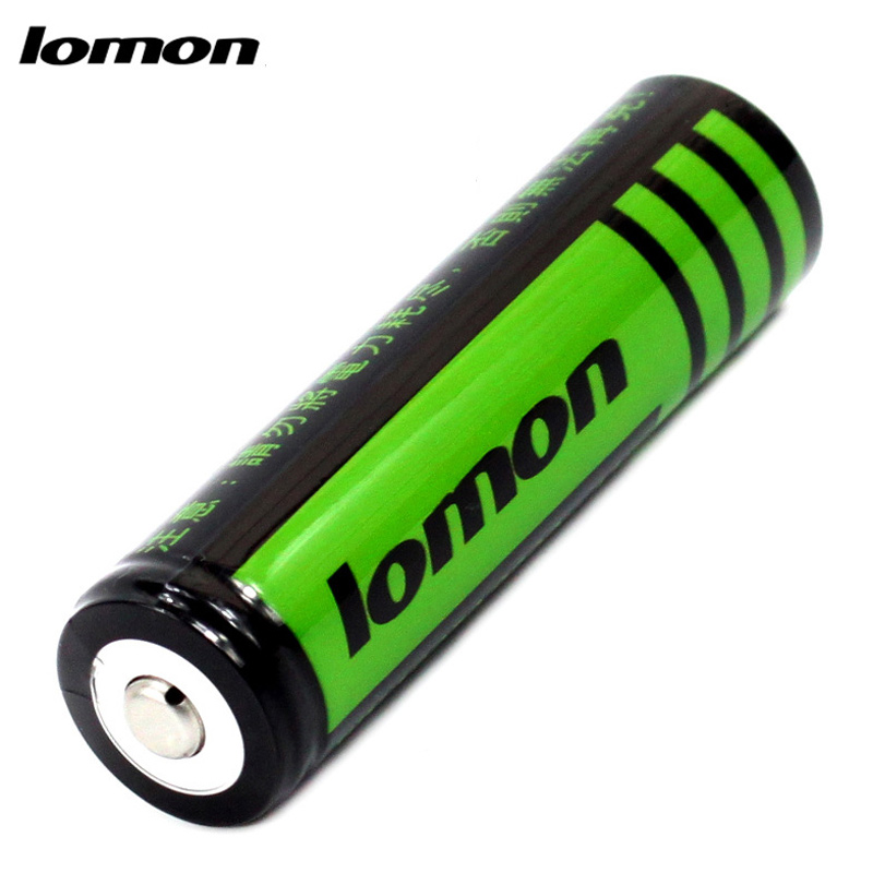 Lomon Lithium Battery 2800mAh Rechargeable Battery for Flashlight Toy Digital Product P18650-D