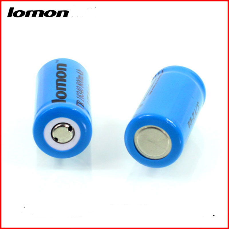 Lomon Lithium Battery 800mAh Rechargeable Battery for Flashlight P16340