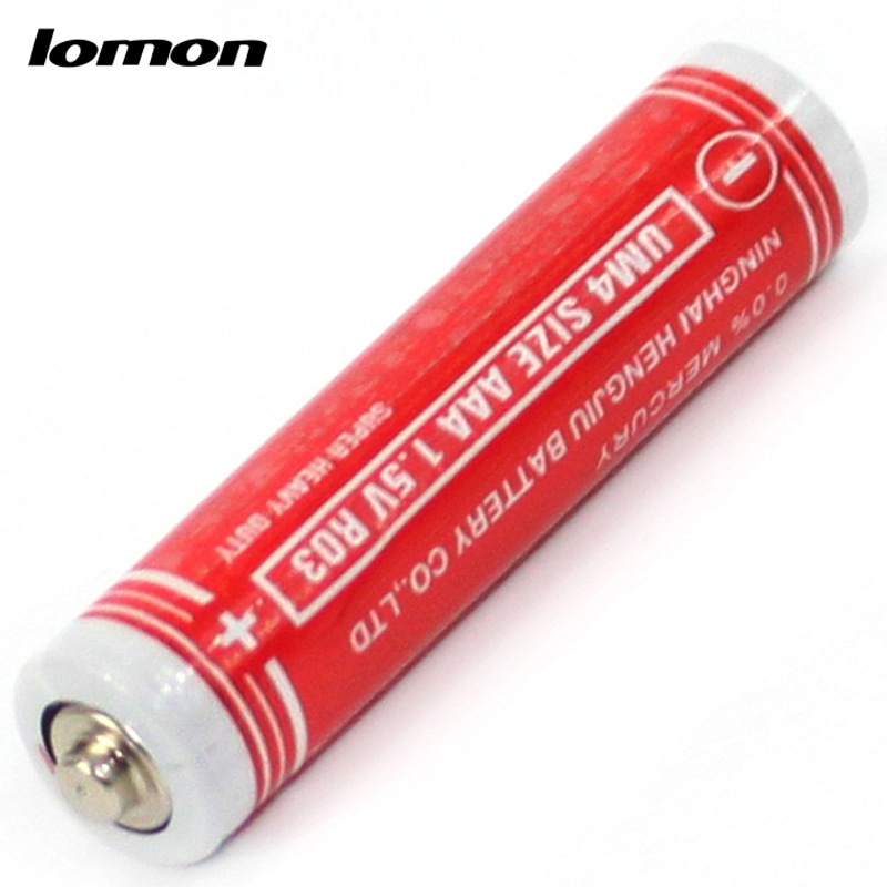 Lomon AAA Battery for Kids Toys Mini Flashlight Alkaline Batteries P158-4