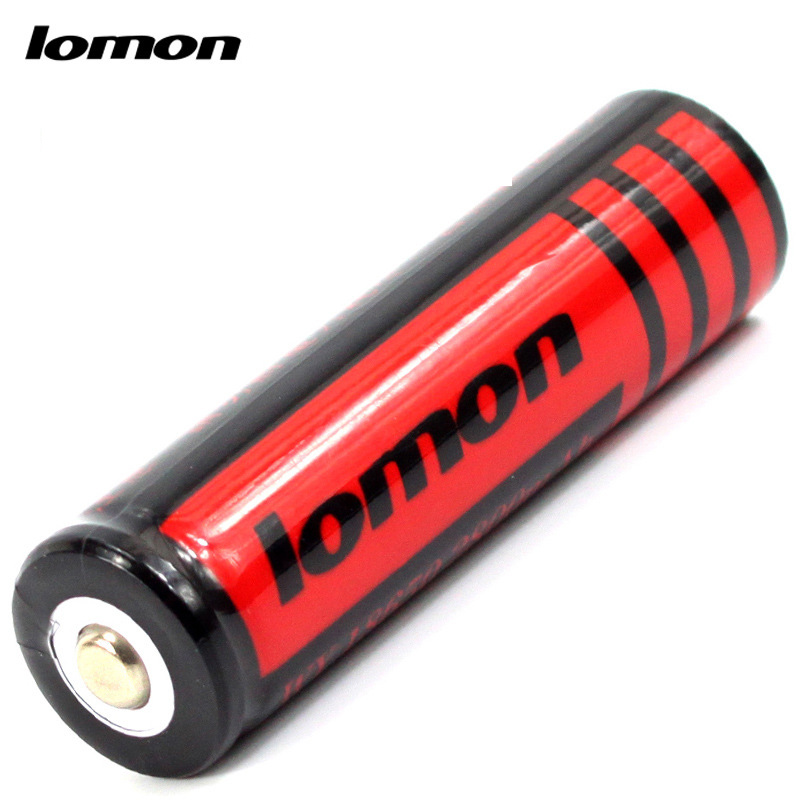 Lomon Lithium Battery 2800mAh Rechargeable Battery for Flashlight P18650-C