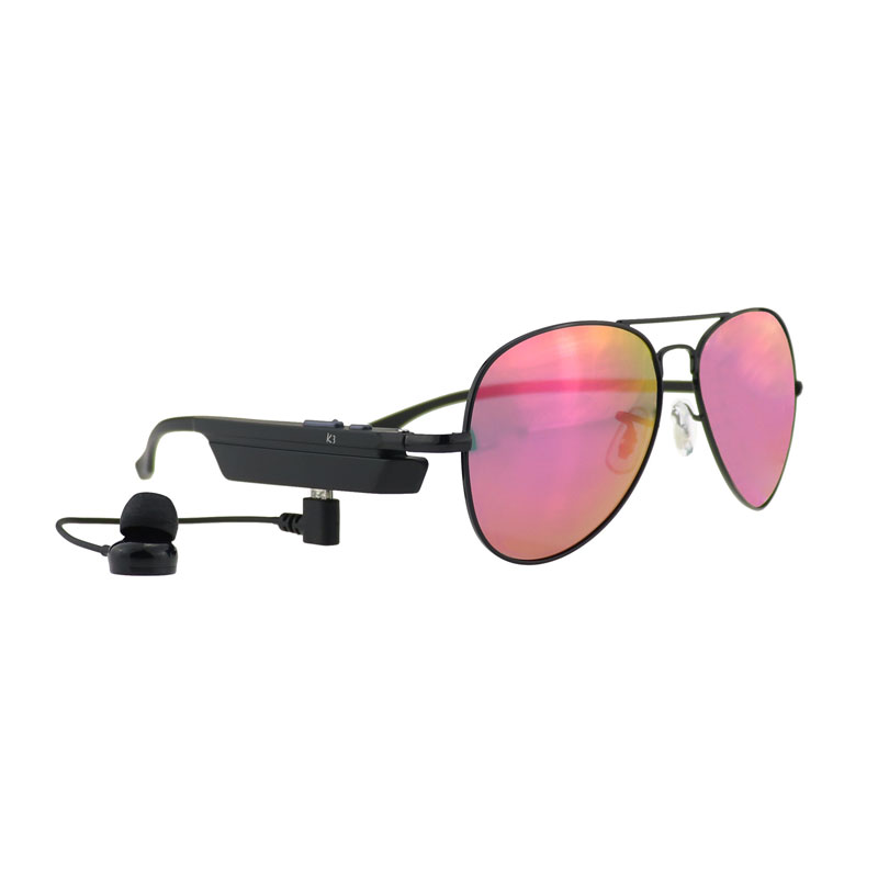 K3-A Bluetooth Smart Sun Glasses With Answer Calls Listen Music