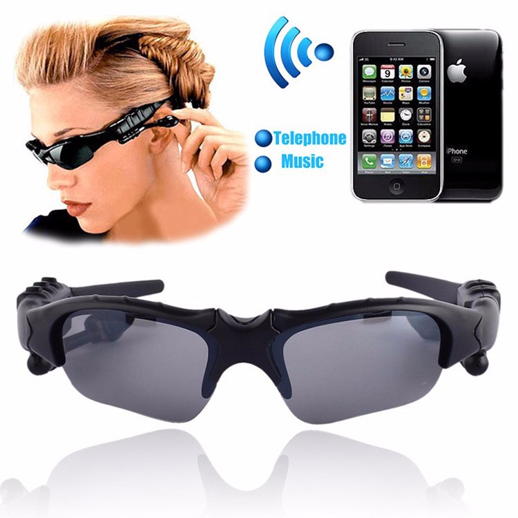 Bluetooth 4.1 Wireless Vehicle Smart Headset Polarized Glasses