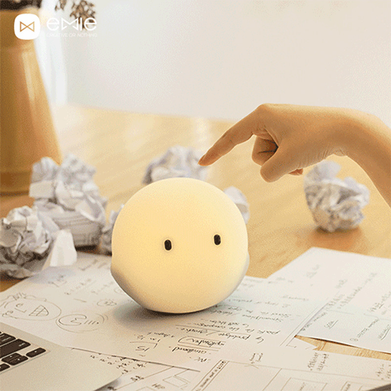 Emie Smart Lamp 7 colors of light Touch Control Bouncy LED Night Light by APP