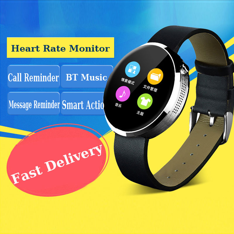 CHIGU DM 360 Bluetooth Smartwatch For Heart Rate Monitor Waterproof Fitness Tracker