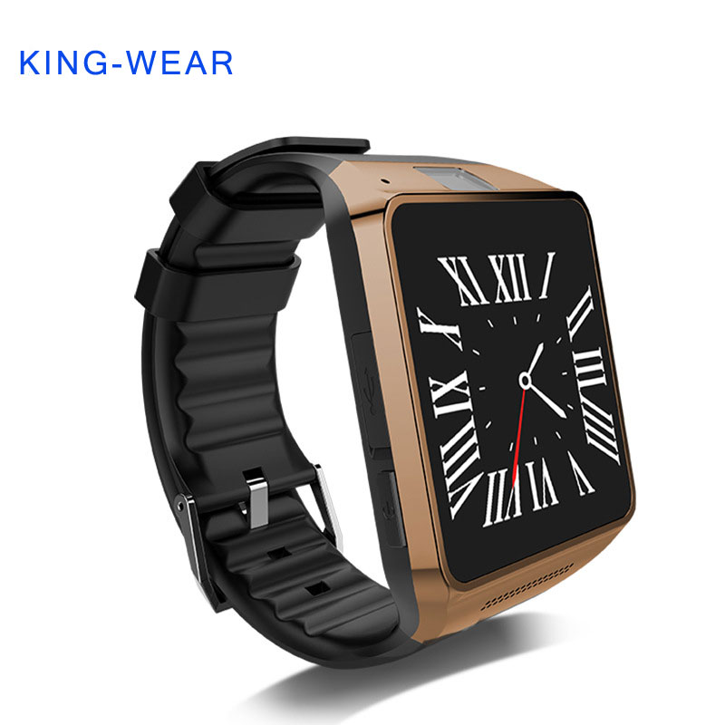 KING-WEAR Bluetooth Smart Watch multifunctional Wrist watch with camera support NFC SIM for Android IOS Smart Phone