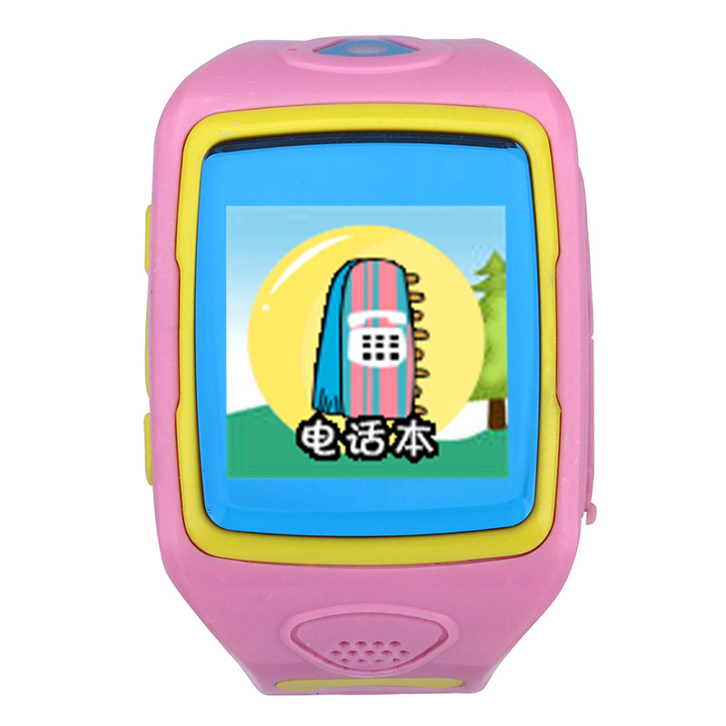 GPS Tracker SOS Call Location Finder Locator Tracker Children Anti lost Monitor Pedometer Smartwatch