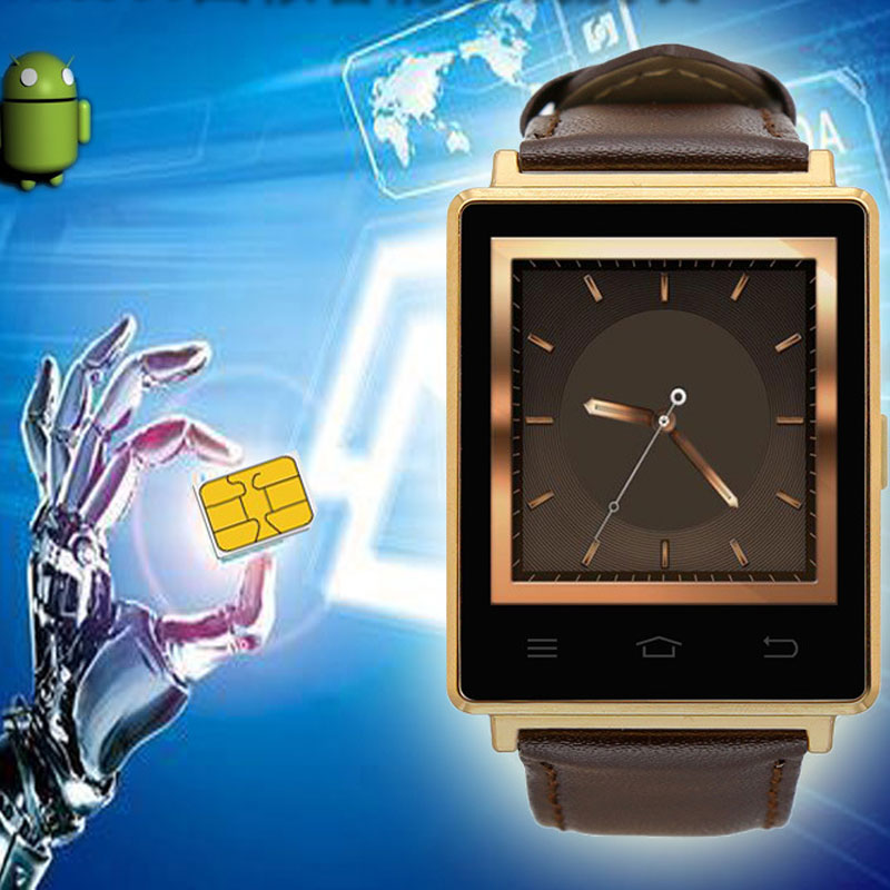 D6 Smart Watch Phone With Heart Rate Monitor Passometer Waterproof For IOS Android