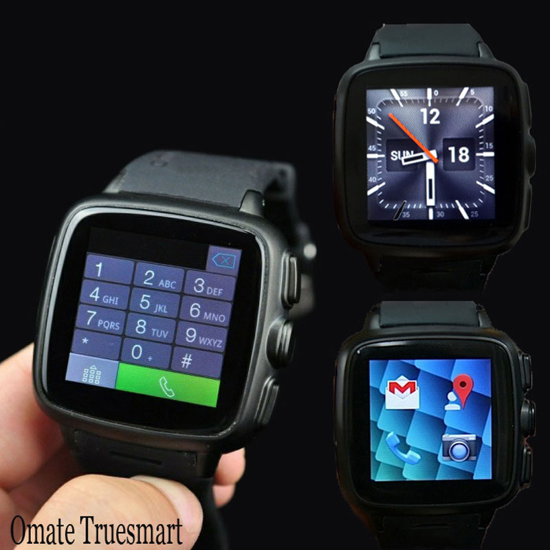 Omate truesmart Smart Watch Phone Support SIM Card GPS For Android