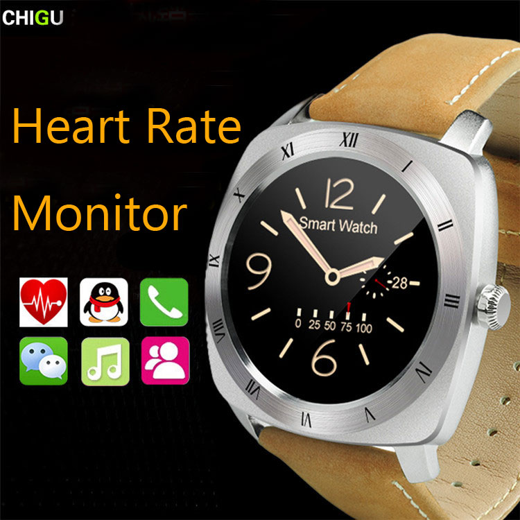 CHIGU Smart Watch DM88 Heartrate Monitor Passometer Waterproof For Bluetooth