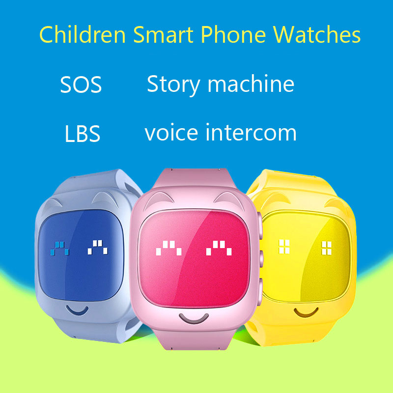 CHIGU Q80 Children Watch Smart Phone Card Calls Can Positioned Monitor