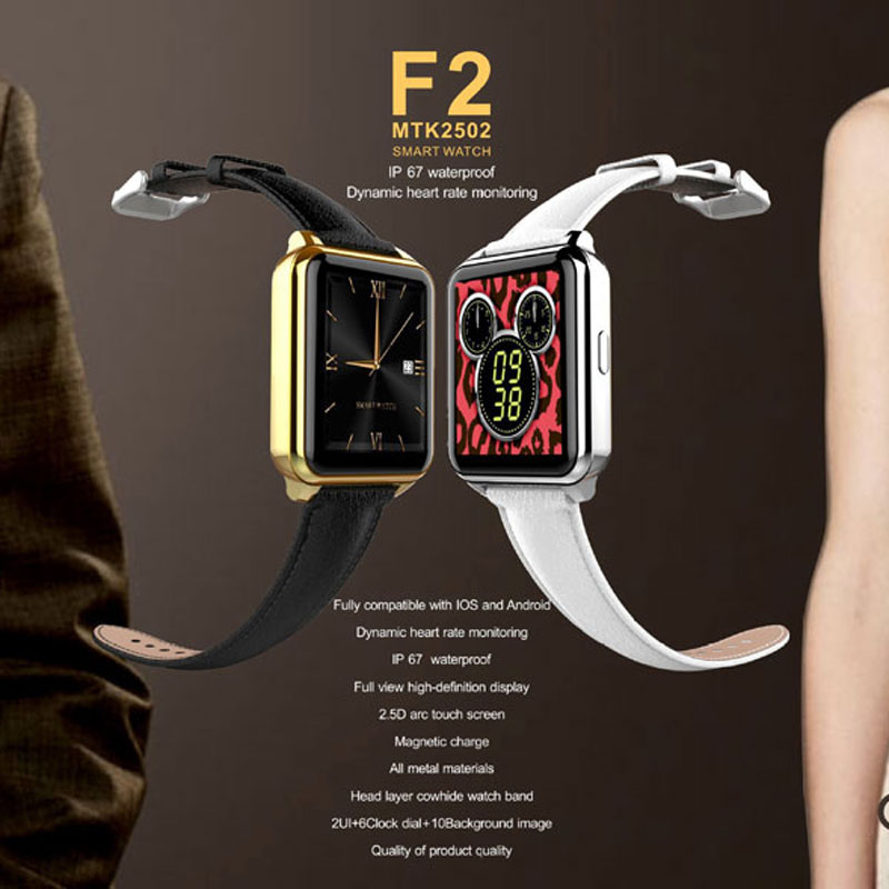 F2 Bluetooth sport Smart watches Fitness Tracker Heart Rate Monitor