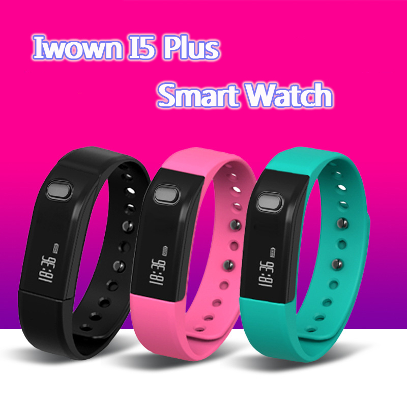 Iwown I5 Plus Smart Wristband For Call Reminder Waterproof Bluetooth Wristband Sports Watch
