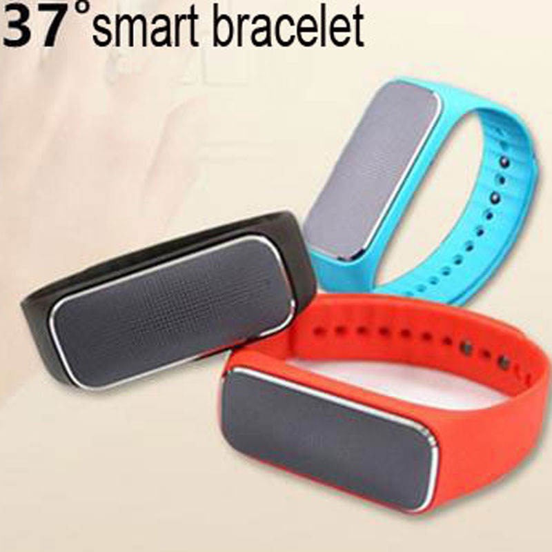 37 Degree Smart Wristband Heart Rate Sleep Monitor Blood Pressure Sports