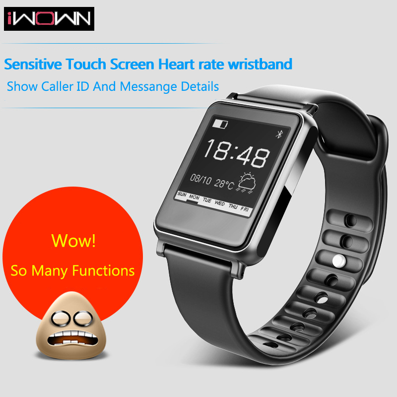 Iwown I7 Plus Smart Watch Heart Rate Monitor Wristband For Pedometer Bluetooth Health Wristband Fitness Tracker Sleep Monitor