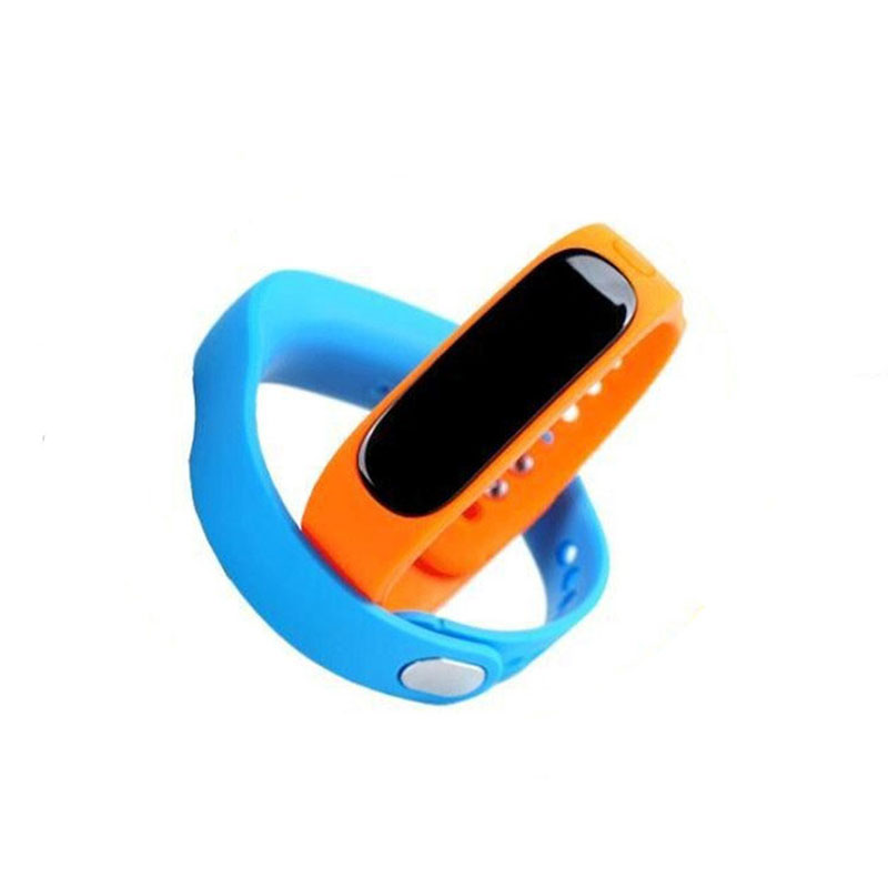 E02 Bluetooth Smart Wristband Sleep Monitor Call/SMS Remind For Android iOS