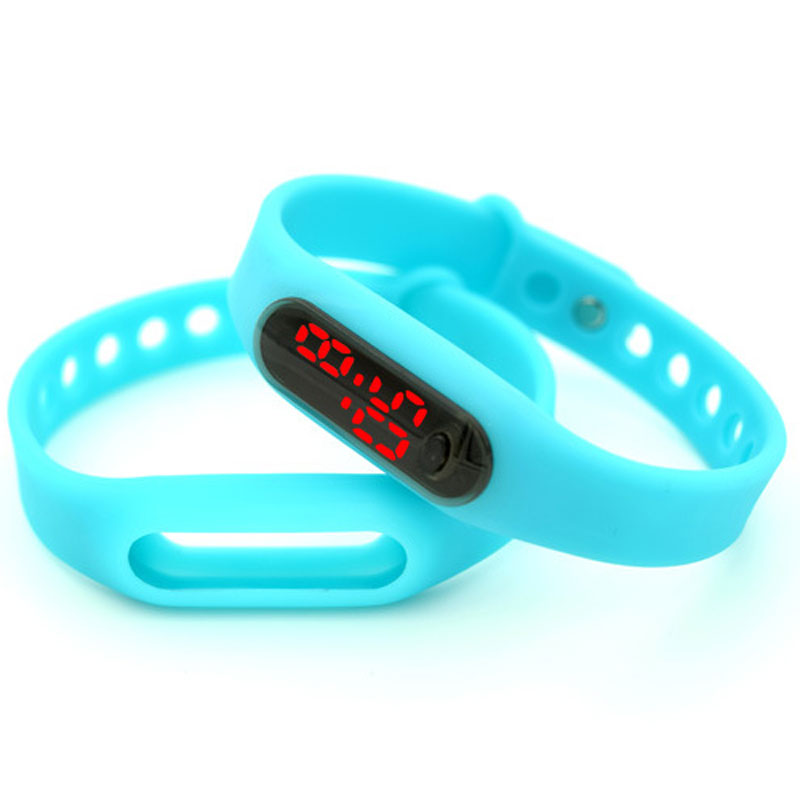 Fashion Xiaomi LED Wristband Sport Smart Watch Luminous
