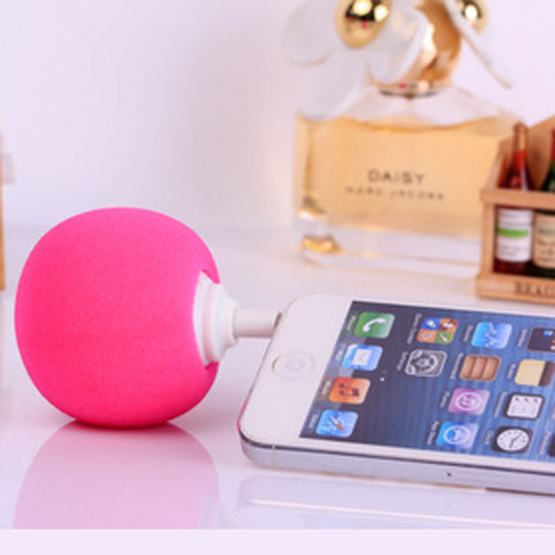 Mini Portable Sponge Ball Subwoofer Speaker