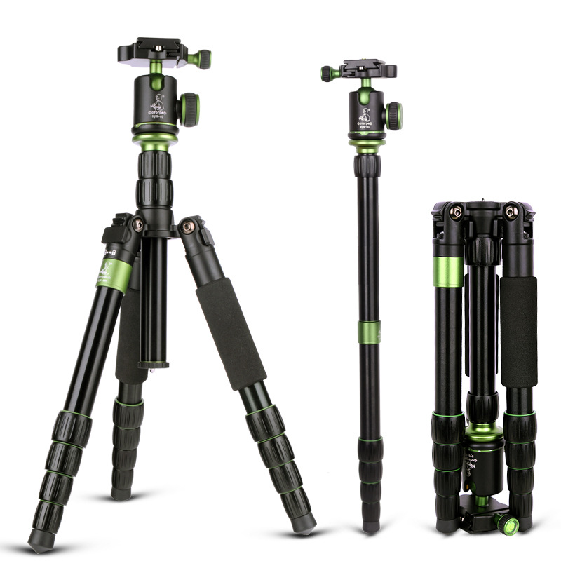 Tripod Monopod Photography Video Folding Three Feet Support Stand Tripod SYS-298