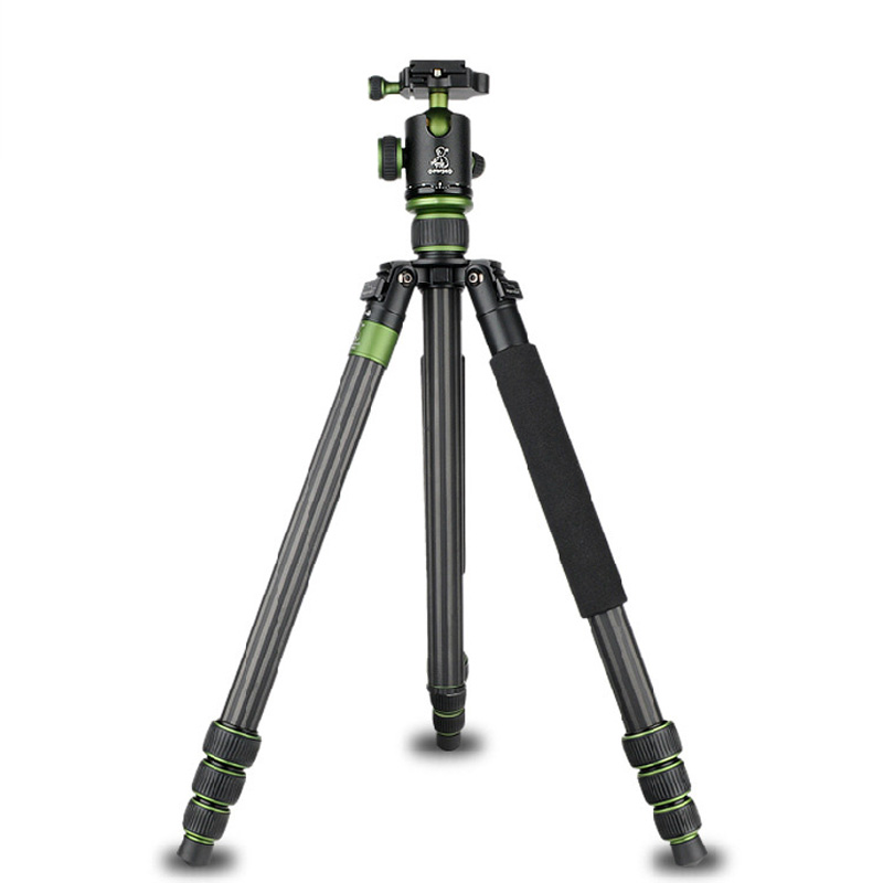 Three Feet Support Stand Tripod Photography Video Folding Tripod Monopod SYS-968C