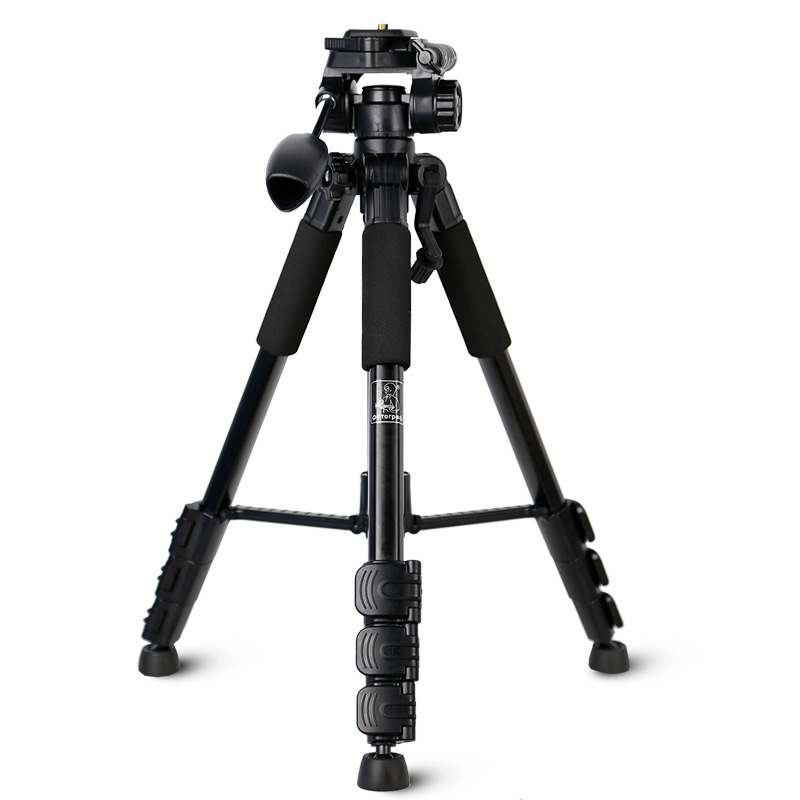 New Aluminum Tripod Photography Video Folding Tripod Monopod SYS-118
