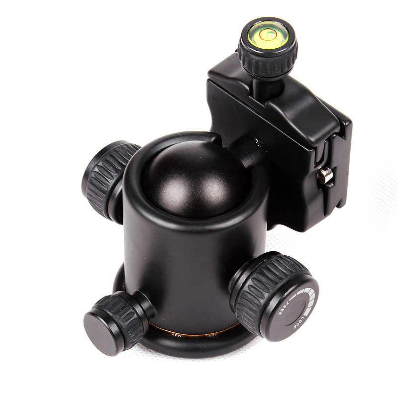 Ballhead Quick Release Plate 360 Degree Panoramic Swivel Camera Tripod Head Q03