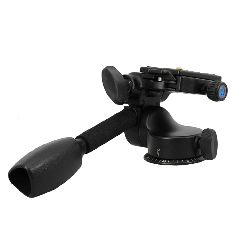 Video Tripod Ball Head Quick Release Plate Aluminum Camera Tripod Monopod Q08