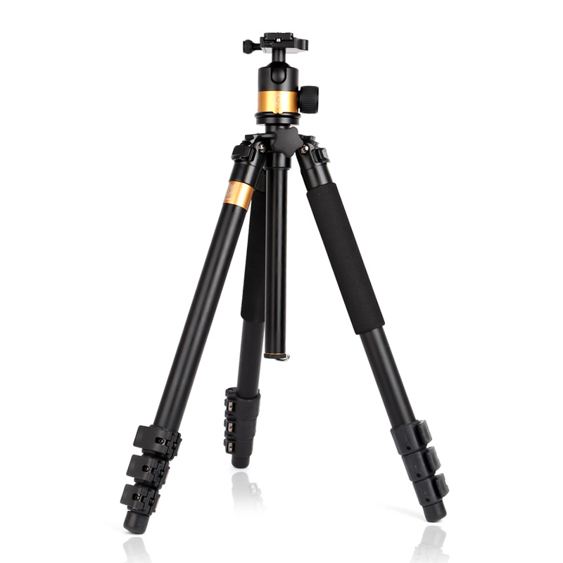 Portable Photographic Aluminum Tripod Monopods For Video Camera Stand Tripod Q610