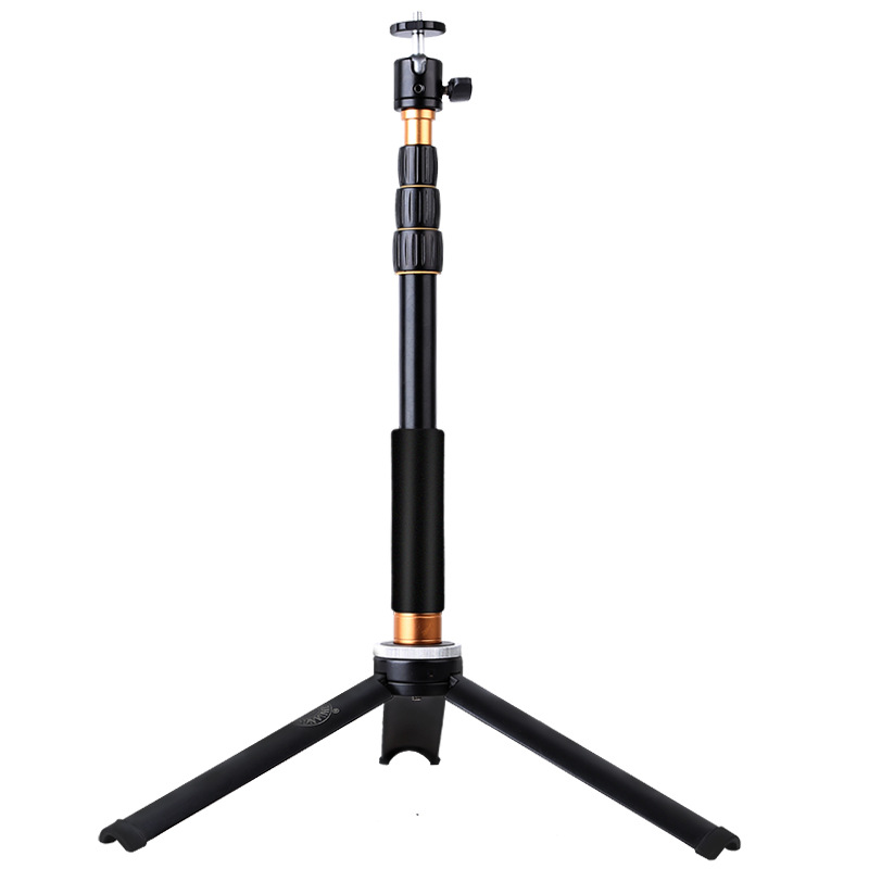 New Traveling Aluminum Tripod Digital Camera Mini Tripod Monopod Q166B