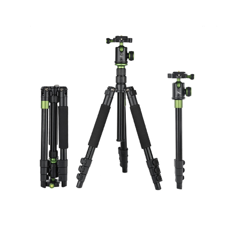 New Portable Photography Micro Head Camera Tripod Monopods SYS-200