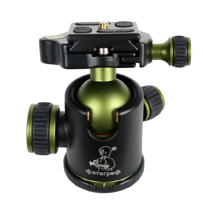 Camera Tripod Ball Head with Professional Quick Release Plate SYS-20