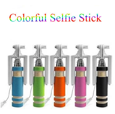 Profissional Grooves On Selfie Stick Extendable Portable Mini Tripod Handheld