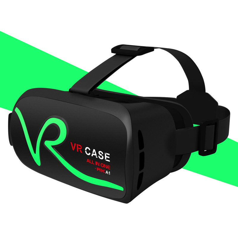Virtual Reality 3D Touch Control Mobile Smart Glasses vr case RK-A1