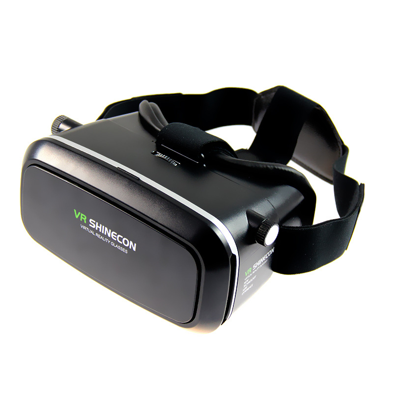 Head-mounted Wireless 3D Virtual Reality Glasses