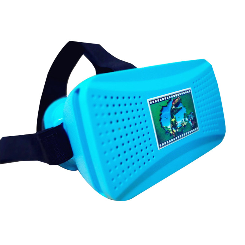3D Virtual Reality 3D VR Glasses Private Theater for Theater for 4.0- 6.0 inches Mobile Phones Immersive