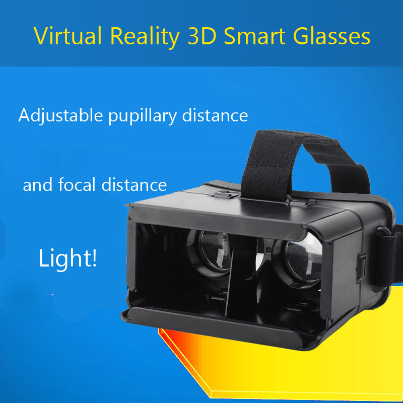 CHIGU V3 Virtual Reality 3D Smart Glasses For 4-6 inch Smartphones