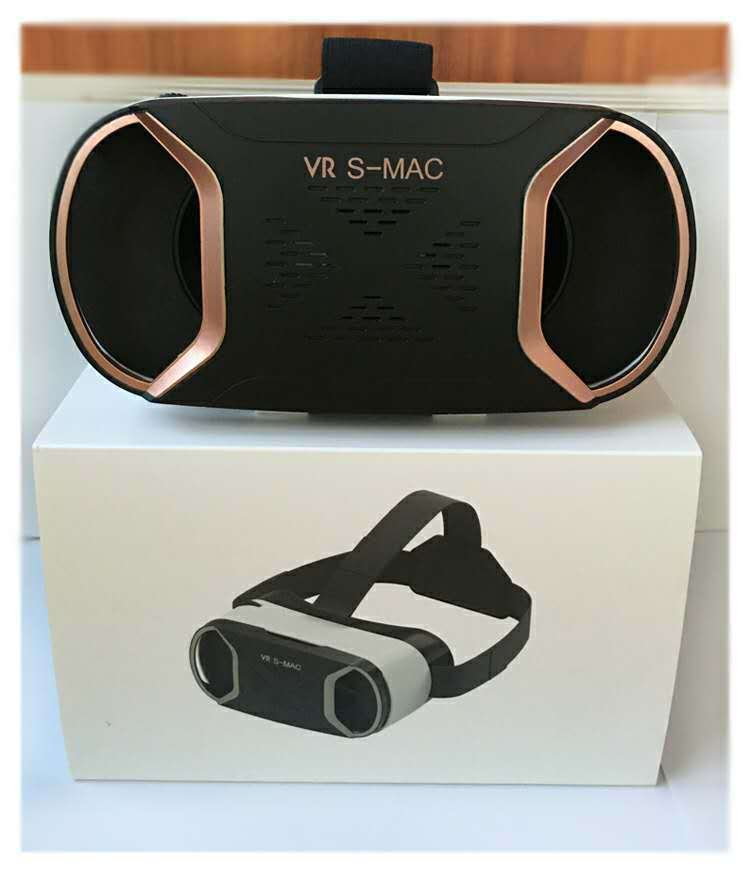 VR S-MAC VRBOX Virtual Reality 3D Glasses Headset For Smartphone
