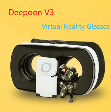 Deepoon V3 Headset Box 3D Virtual Reality Glasses For Smartphone